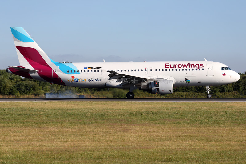 D-ABDP   Airbus A320-214   Eurowings