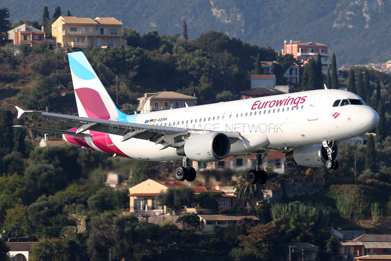 D-ABNK | Airbus A320-214 | Eurowings