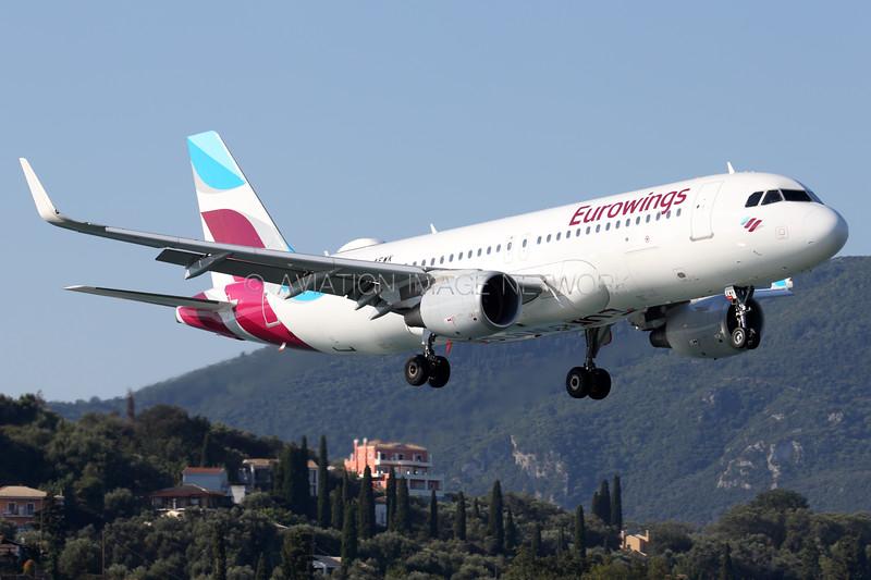 D-AEWK   Airbus A320-214   Eurowings