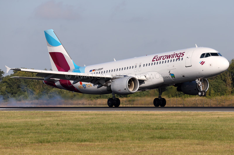 D-ABDP | Airbus A320-214 | Eurowings