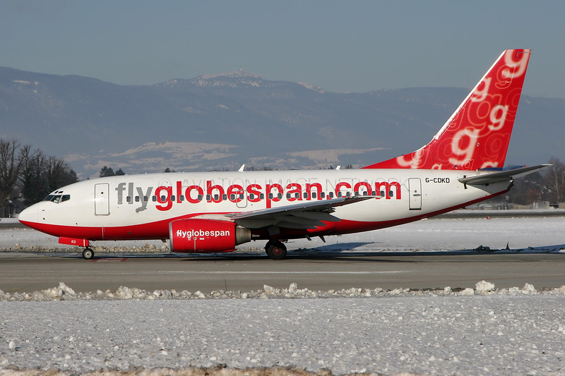 G-CDKD   Boeing 737-683   Flyglobespan