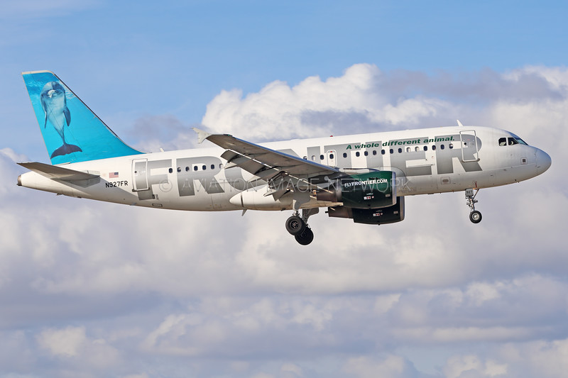 N927FR | Airbus A319-112 | Frontier Airlines