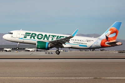 N308FR | Airbus A321-251N | Frontier Airlines