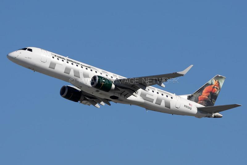 N163HQ   Embraer ERJ-190LR   Frontier Airlines (Republic Airlines)