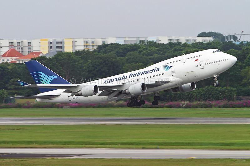 PK-GSI | Boeing 747-441 | Garuda Indonesia