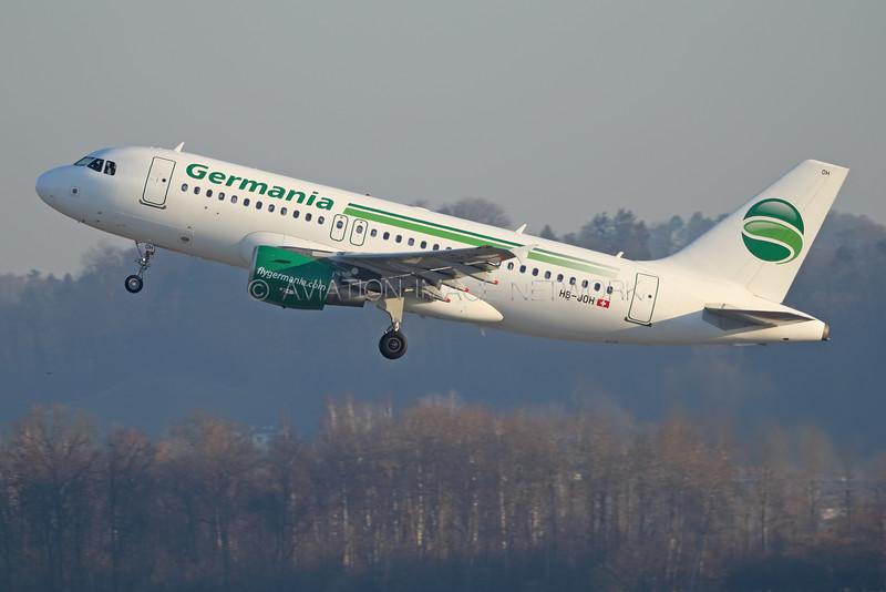 HB-JOH | Airbus A319-112 | Germania Flug