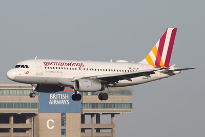 D-AGWF   Airbus A319-132   Germanwings