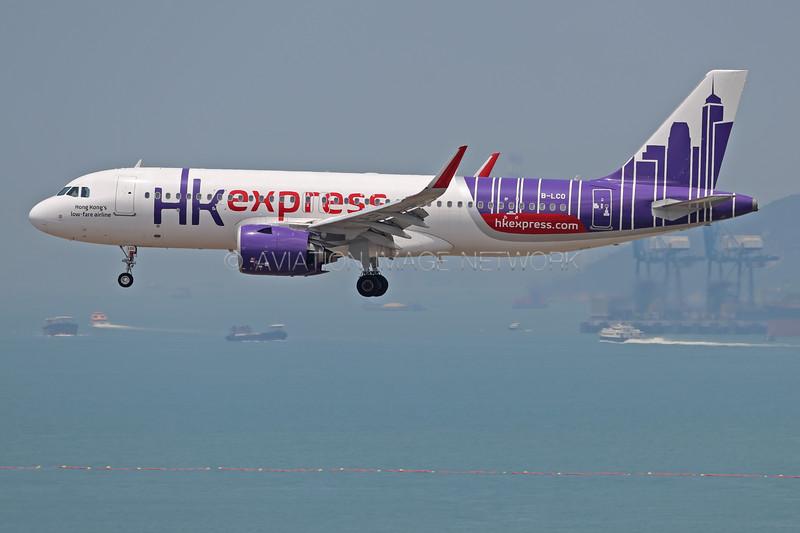 B-LCO   Airbus A320-271N   HK Express