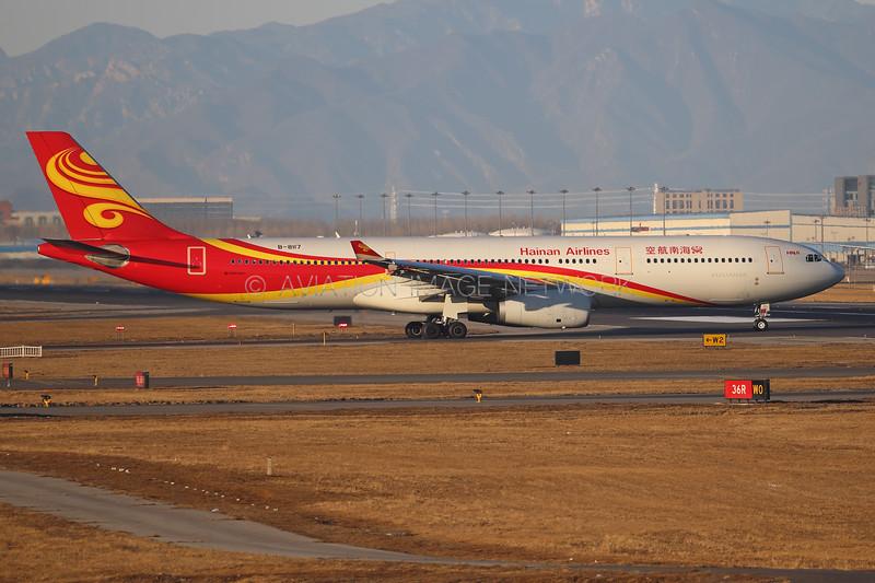 B-8117 | Airbus A330-343 | Hainan Airlines