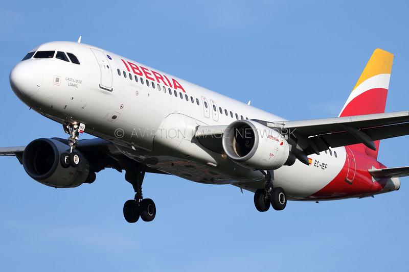 EC-IEF | Airbus A320-214 | Iberia