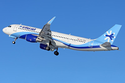 XA-CBA | Airbus A320-214 | interjet