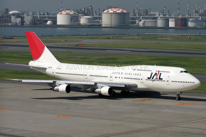 JA8176   Boeing 747-146B/SR/SUD   JAL - Japan Airlines