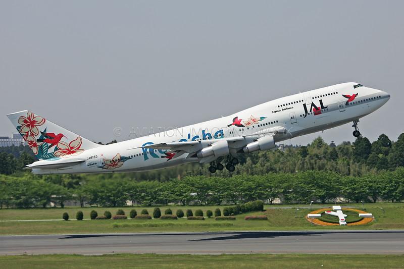 JA8183   Boeing 747-346   JAL - Japan Airlines