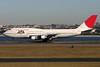 JA8185 | Boeing 747-346 | JAL - Japan Airlines