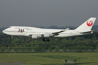 JA8087 | Boeing 747-446 | JAL - Japan Airlines