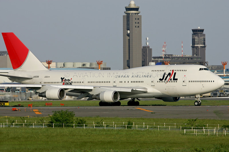 JA8089 | Boeing 747-446 | JAL - Japan Airlines