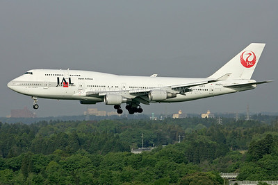 JA8074 | Boeing 747-446 | JAL - Japan Airlines