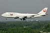 JA8074 | Boeing 747-446 | JAL - Japan Airlines
