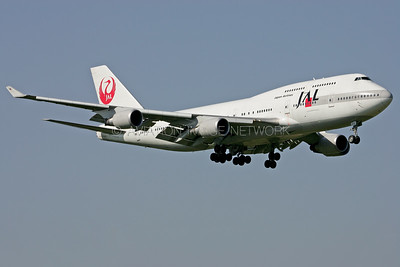 JA8919 | Boeing 747-446 | JAL - Japan Airlines