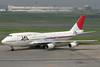 JA8907 | Boeing 747-446D | JAL - Japan Airlines