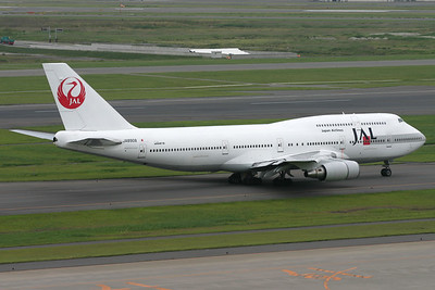 JA8908 | Boeing 747-446D | JAL - Japan Airlines