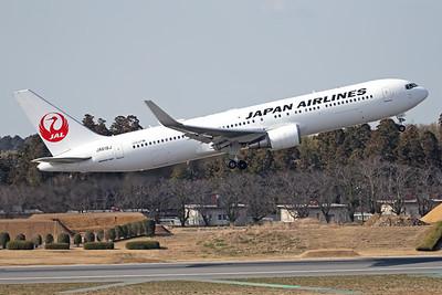 JL618J | Boeing 767-346/ER | JAL - Japan Airlines