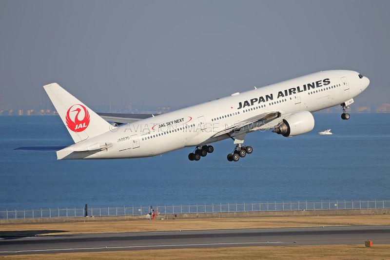 JA007D   Boeing 777-289   JAL - Japan Airlines