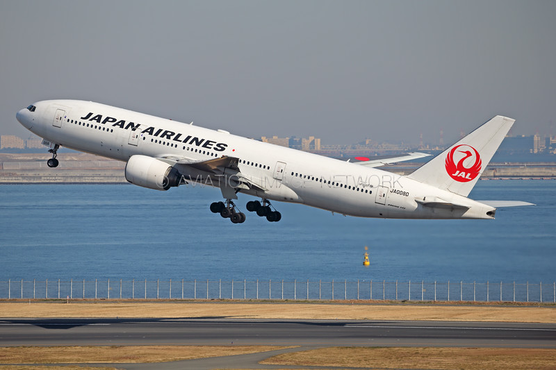 JA008D | Boeing 777-289 | JAL - Japan Airlines