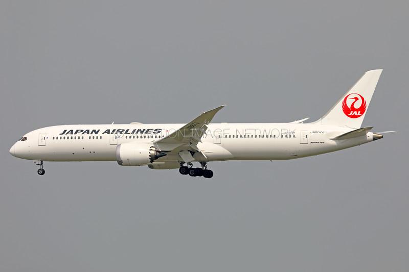JA867J | Boeing 787-9 | JAL - Japan Airlines