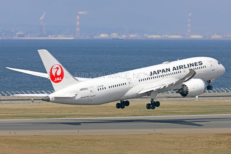 JA824J | Boeing 787-8 | JAL - Japan Airlines