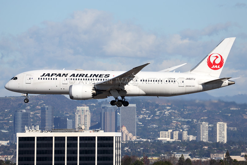 JA827J | Boeing 787-8 | JAL - Japan Airlines