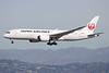 JA834J   Boeing 787-8   JAL - Japan Airlines