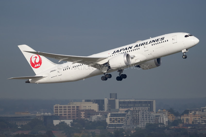 JA844J | Boeing 787-8 | JAL - Japan Airlines