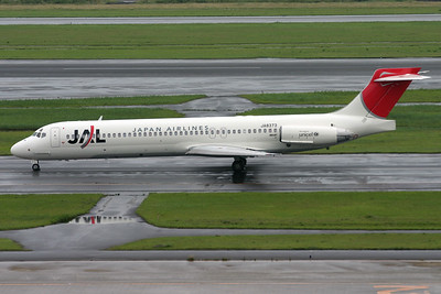 JA8373 | McDonnell Douglas MD-87 | JAL - Japan Airlines