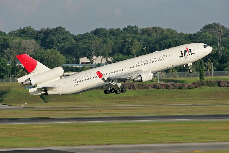 JA8582 | McDonnell Douglas MD-11 | JAL - Japan Airlines