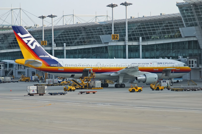 JA014D | Airbus A300B4-622R | JAS - Japan Air System