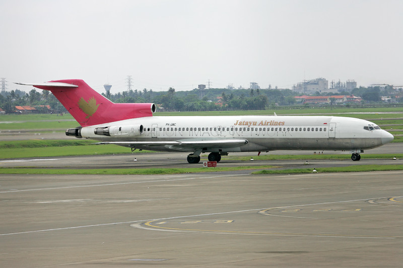 PK-JAC   Boeing 727=232   Jatayu Airlines