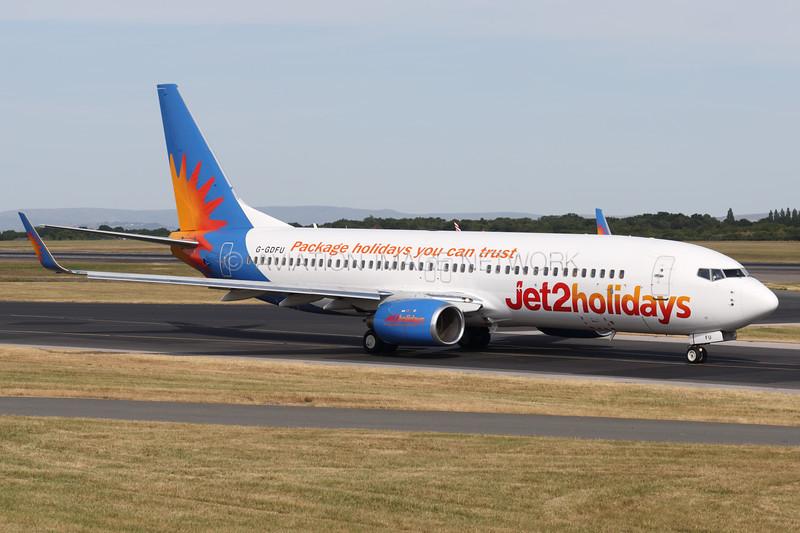 G-GDFU | Boeing 737-8K5 | Jet2 Holidays