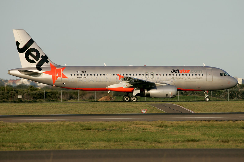 VH-VQZ | Airbus A320-232 | Jetstar Australia