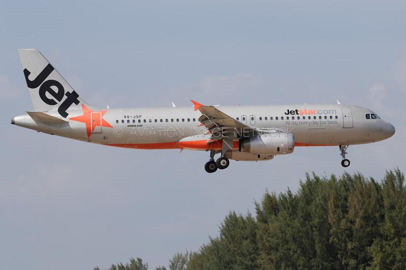 9V-JSF | Airbus A320-232 | Jetstar Asia Airways