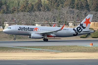 JA15JJ | Airbus A320-232 | Jetstar Japan