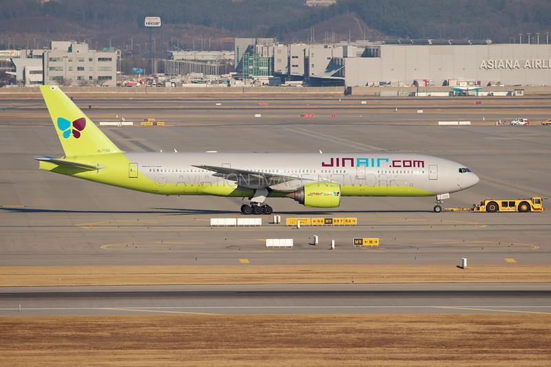 HL7750   Boeing 777-2B5/ER   Jin Air