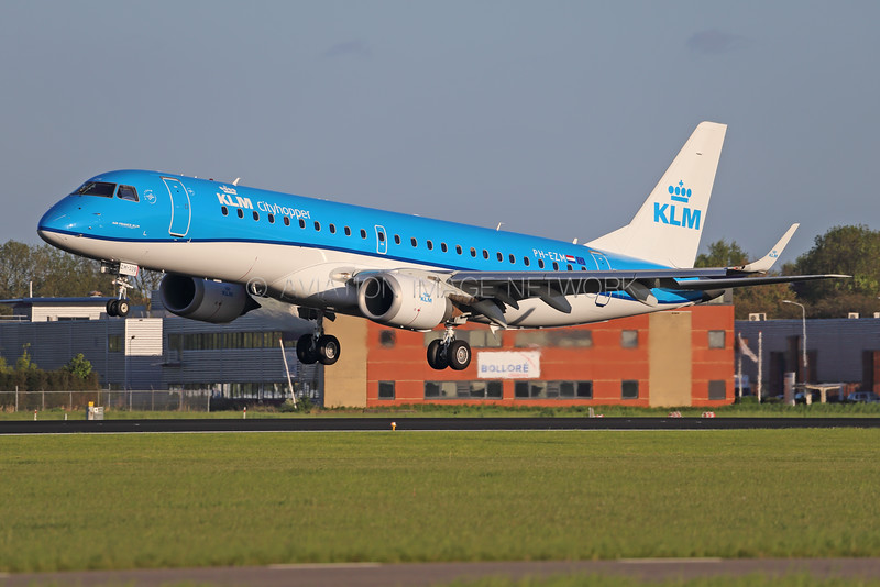 PH-EZM | Embraer ERJ-190STD | KLM Cityhopper
