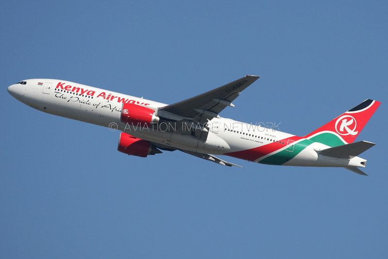 5Y-KQT | Boeing 777-2U8/ER | Kenya Airways