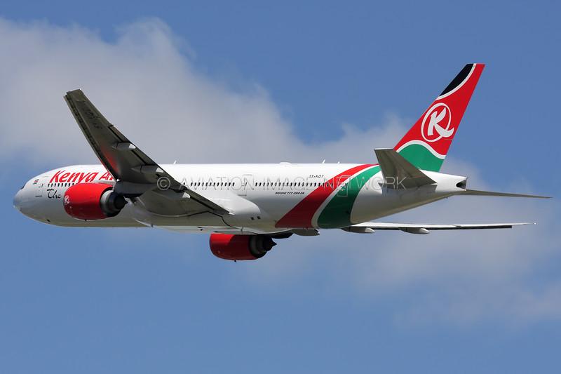 5Y-KQT | Boeing 777-2U8/ER | Kenya Airways