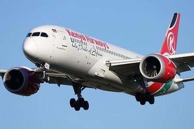 5Y-KZB | Boeing 787-8 | Kenya Airways