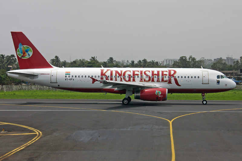 VT-KFA | Airbus A320-232 | Kingfisher Airlines