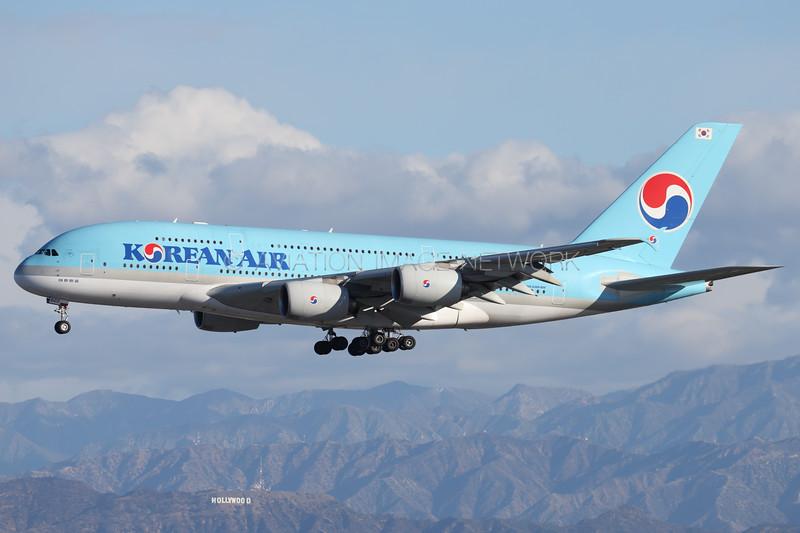 HL7622 | Airbus A380-861 | Korean Air