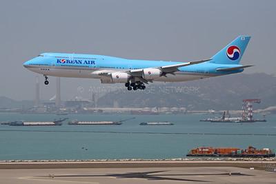 HL7643 | Boeing 747-8B5 | Korean Air