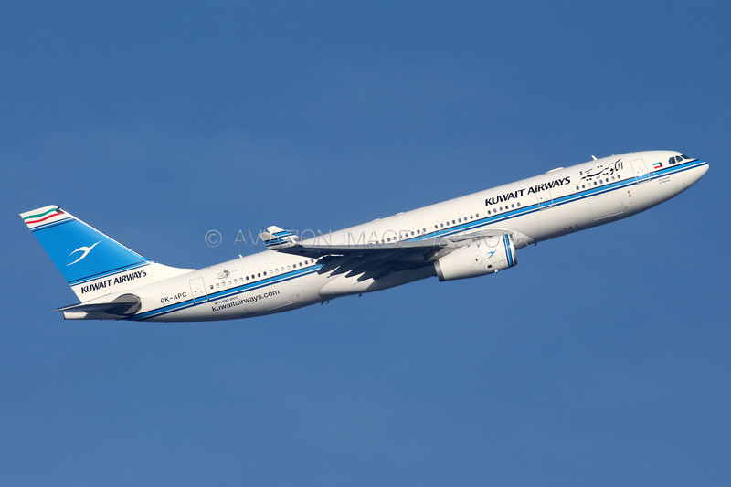 9K-APC | Airbus A330-243 | Kuwait Airways